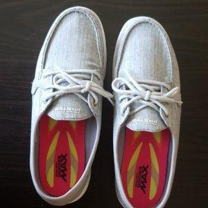 Sketchers Boat Shoes Grey